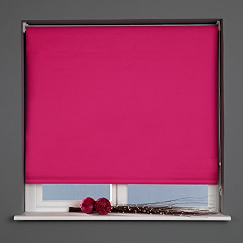 Sunlover-Estor Enrollable térmico (120cm), Color Fucsia, W150cm