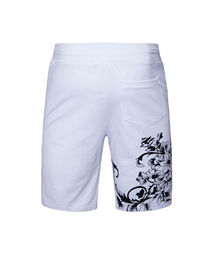 EHOMEBUY -  Pantaloncini  - Uomo White2