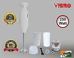 Vibro Hand Blender Super Deluxe 111 with 250watt (White)