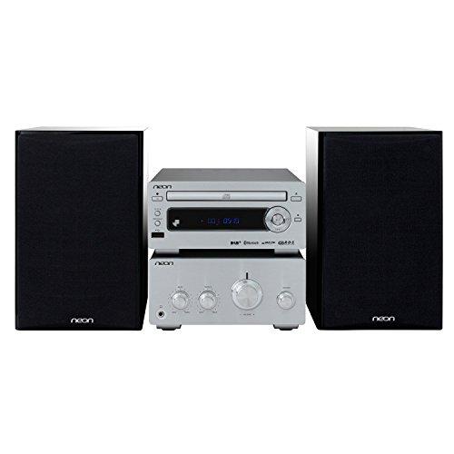 Neon Electronic® Micro Hifi Bluetooth-Lautsprecher MCB1534D-12 mit CD/MP3/FM+RDS für DAB+, mit EU Adapter