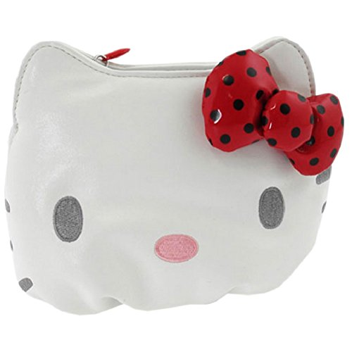 Trousse Cosmétique Hello Kitty by Camomilla noeud rouge