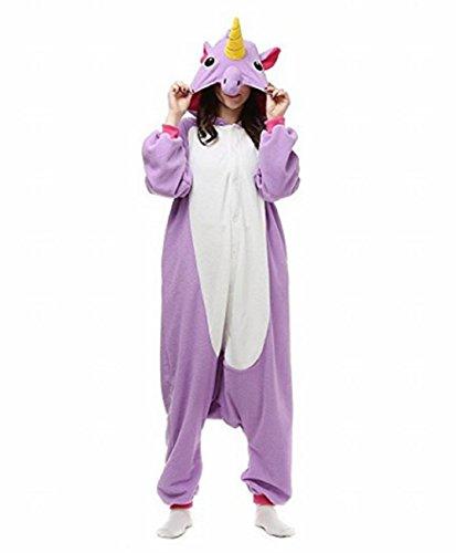 Landove animale pigiama unicorno adulto anime cosplay costume di carnevale halloween party onesie interotuta animali unisex regalo di compleanno natale