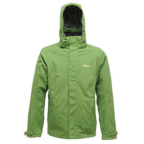 Regatta Minniesota extreme green Herren Outdoor Jacke grün Rhabarberrot