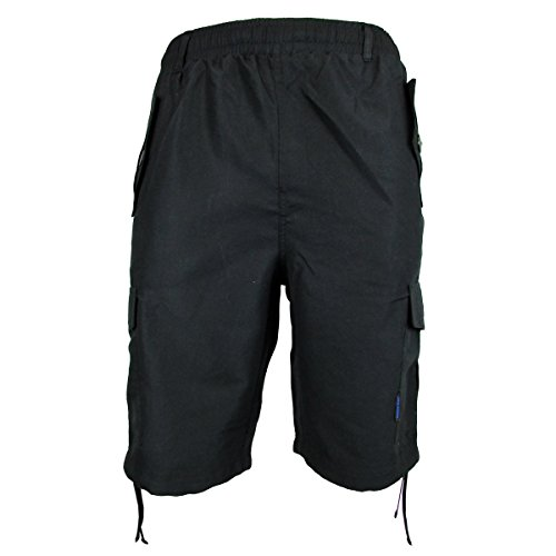 location-herron-gewebt-atmungsaktiv-stoff-mehrfachtaschen-cargo-pocket-short-schwarz-blau-xl