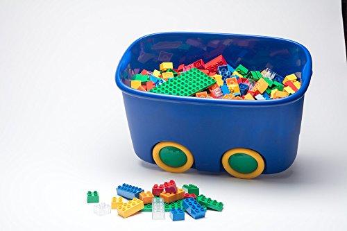 Buggi Toys Base Set Classic 500unidades. Juego completo con placas (grande y pequeña), 12–8y 4piedras