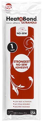 "Heat n Bond Iron-On Adhesive, 17""x36"", 1 Pack"