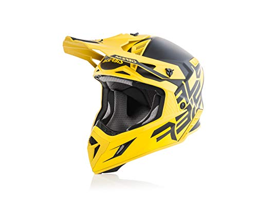 Acerbis casco x-pro vtr nero/giallo xxl