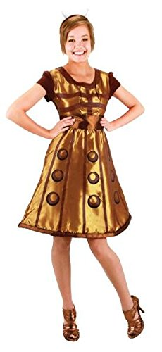 Doctor Who Dalek Dress Sm Med