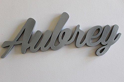 Aubrey, Letreros personalizados para Niños o Niñas, Carteles de Nomb