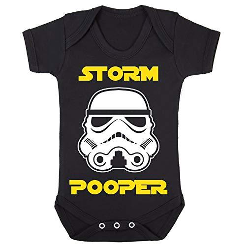 Original Stormtrooper Storm Pooper Babygrow Babysuit Short Sleeve