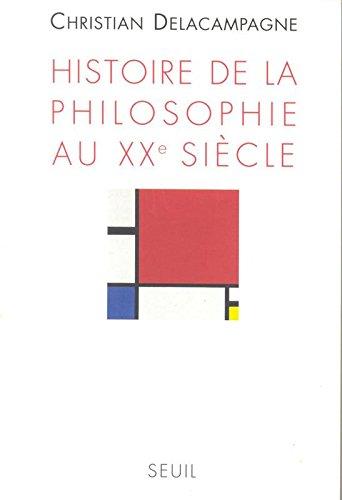 Histoire de la philosophie au XXe sicle