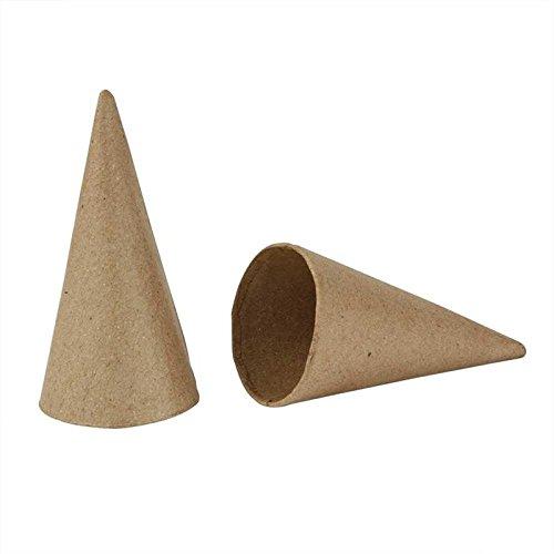 Creativ Company Coni, 10 Stück, H: 10 cm, D: 5 cm