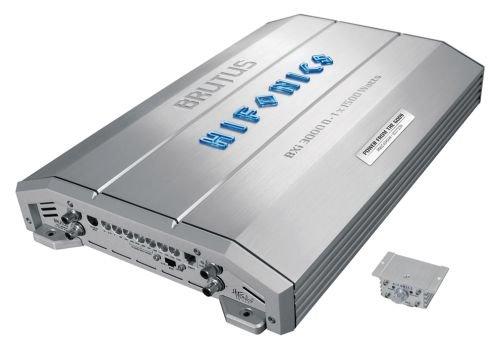 Hifonics BXi3000D - AV-Receiver (verkabelt, 10 - 30000 Hz, 260 x 60 x 380 mm, 12 V DC / 70A)
