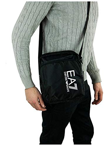 Emporio Armani EA7 borsa uomo a tracolla borsello in nylon originale train prime