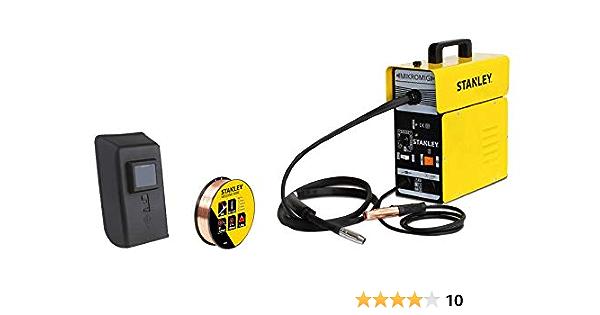 Stanley 10880 Micro Filling Wire Welding Machine 230 V 65 90 A With Welding Accessories Baumarkt