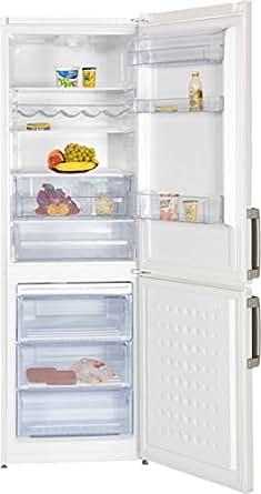 Beko CS 234030S Réfrigérateur/Congélateur/A + +/Zone 0°C/229kWh/an/197l partie isotherme/95L Partie Congélateur/185cm Hauteur/silberoptik Weiß