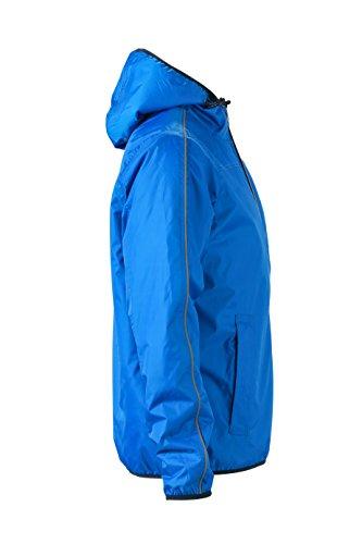 James & Nicholson Herren Jacke Jacke Winter Sports Jacket Royal/Off-White