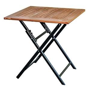 klapptisch holz 70x70 terrassentisch eukalyptus balkontisch gartentisch tisch. Black Bedroom Furniture Sets. Home Design Ideas