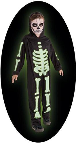 Imagen de disfraz infantil  esqueleto brilla en la oscuridad 5 7 años alternativa