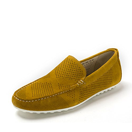 Estate guida tondo testa scarpa/Scarpe basse Giallo