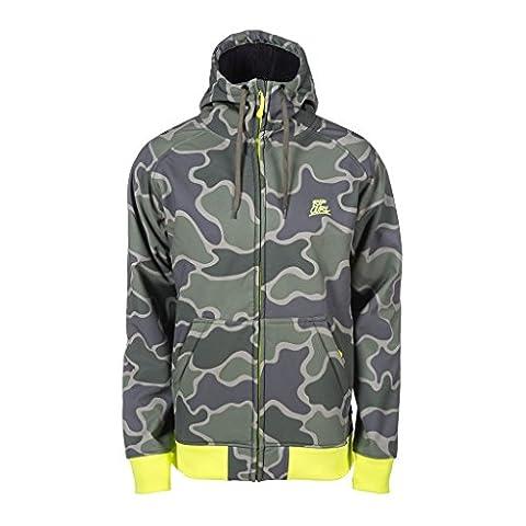 Veste à capuche pour homme imprimé rip curl icon sweat zippé à capuche XS Vert - Vert olive