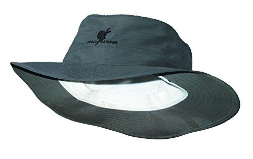 fea4386506ea3 Wolf Camper Outdoor, Randonnée Chapeau, Shady Olive avec moustiquaire,  Taille L (60 cm)