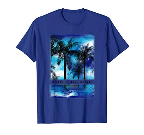 Kona T Shirt Hawaii Retro Apparel Sunset Kids Adults Teens