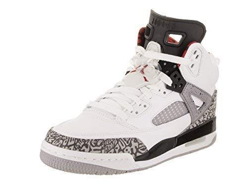 Nike Kinder Jordan Spizike Weiß Nubuk/Textil Basketballschuhe 36.5 Nubuk-textil