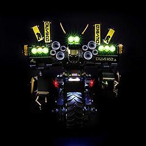 BRIKSMAX Kit di Illuminazione a LED per Lego Ninjago Robot tellurico,Compatibile con Il Modello Lego 70632 Mattoncini da… 0716852282609 LEGO