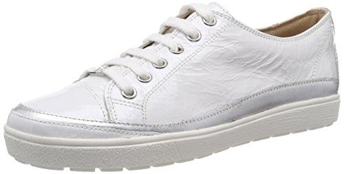 Caprice Damen 23654 Derbys Weiß (White Napl Mud 124)