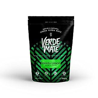 Mate-Tee-Verde-Mate-Green-Menta-Limon-500g-Verde-Mate-Grn-Minze-Zitrone-Mate-Tee-Grn-aus-Brasilien-Hochwertige-Yerba-Mate-Qualitt-aromatisierter-Yerba-Mate
