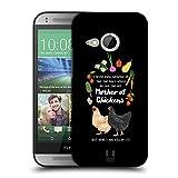 Head Case Designs Huhn Und Gemuese Froehliche Garten Arbeit Ruckseite Hülle für HTC One Mini 2