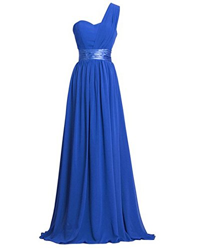 womens-chiffon-one-shoulder-bridesmaids-dresses