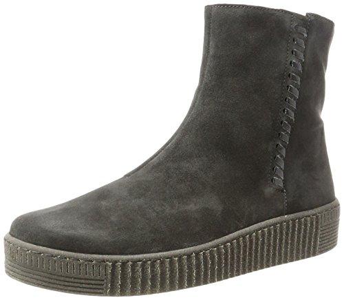 Keil Grau Damen Stiefel (Gabor Shoes Damen Jollys Stiefel, Grau (19 Pepper (Anthrazit)), 40.5 EU)
