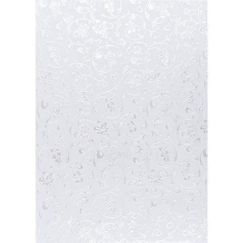 Premium-Transparentpapiere, Nova Noblesse mit Top-Prägung & Perlmuttlack, DIN A4, 5 Bogen (weiß, Design 03) - Top 3 Bogen