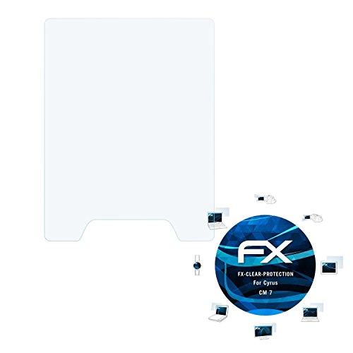 atFolix Schutzfolie kompatibel mit Cyrus cm 7 Folie, ultraklare FX Bildschirmschutzfolie (3X)