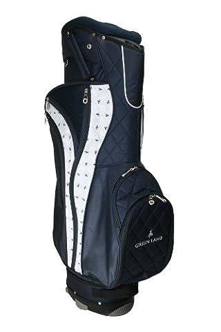 Green lamb sac de golf pour femme Multicolore Blanc/bleu marine taille unique