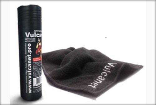 Preisvergleich Produktbild Vulcanet - Waschen Ohne Wasser - KENNENLERN-Set Mini-Dose mit 10 imprägnierten Tücher Incl. 1 Microfasertuch