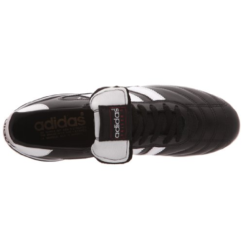 Adidas Kaiser 5 Liga, Chaussures de Football Homme Noir (Black/Running White Ftw/Red)