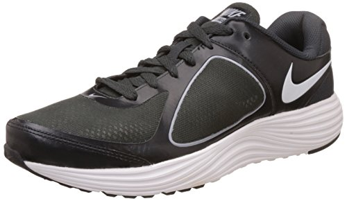 Nike Men's Emerge 3 Black, White, Anthracite and Wolf Grey Running Shoes -8 UK/India (42.5 EU)(9 US)  available at amazon for Rs.2586