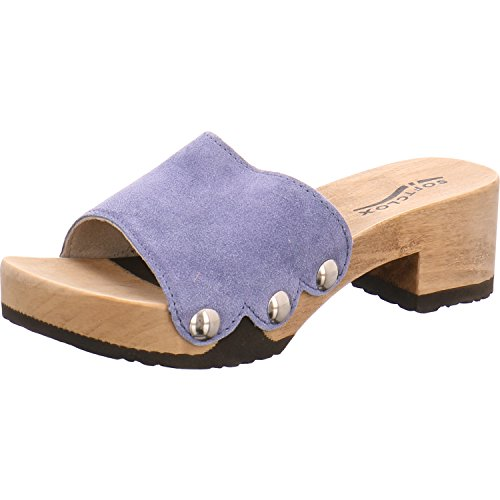 Softclox Sandale blue (hazelnut)