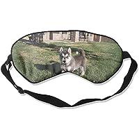 Lovely Husky 3D Animal 99% Eyeshade Blinders Sleeping Eye Patch Eye Mask Blindfold For Travel Insomnia Meditation preisvergleich bei billige-tabletten.eu