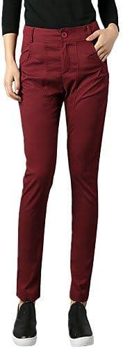 TT&KUZI Pantaloni da da da Donna Taglia Piccola Semplice Moda Città Poliestere Anelastico, XL B077Z6XCJR Parent   Forte calore e resistenza al calore    Shop    Moderato Prezzo  04cdd7