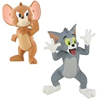 LOTE 2 FIGURAS Comansi Tom and Jerry - Tom Burla - Jerry Stop