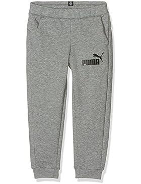 Puma, pantalón deportivo para niños Ess No. 1, infantil, ESS No.1 Sweat Pants, TR, cl, gris medio, 116