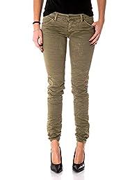 PLEASE - P95 4u1 femme jeans pantalon slim