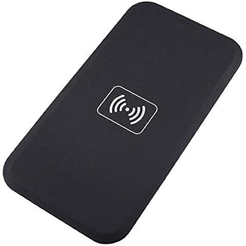 WARRAH Wireless caricabatterie Qi Wireless Charging Pad Wireless Kit Carica Protable telefono cellulare caricabatterie stazioni per Samsung Galaxy S7 / S7 Bordo, S6 / S6 bordo / In più, nota 5, dispositivi Nexus 4/5/6, LG Optimus Vu2 e Standard Qi-enabled