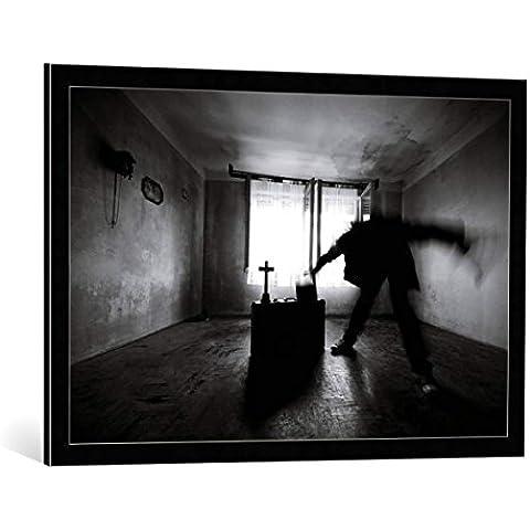 Quadro con cornice: mario grobenski - psychodaddy