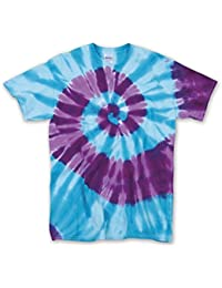 56 Gildan Tie-Dye Adult Typhoon Tee Unisex Adult 100% Cotton