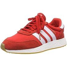 877ad004e7 Amazon.it: Scarpe Adidas LA Trainer Rosse